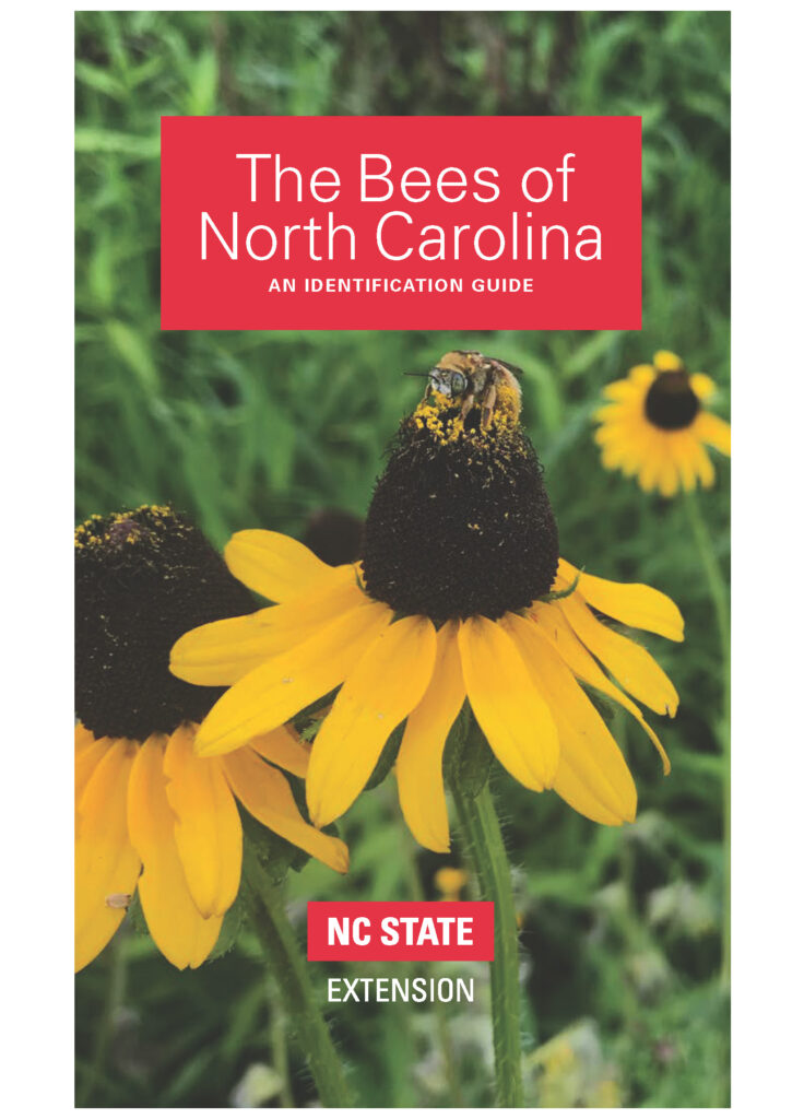 Cover of The Bees of North Carolina: An Identification Guide, an educational publication from NC State Extension.